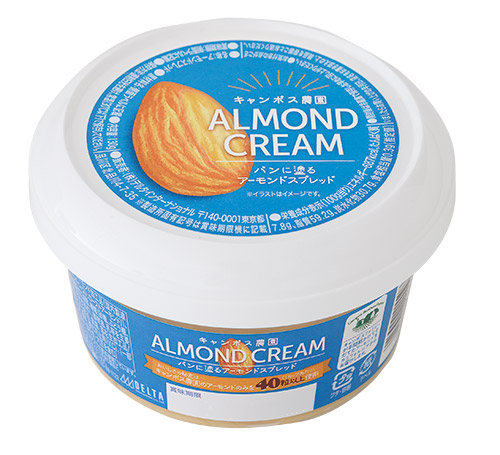 キャンポス農園 パンに塗るアーモンドスプレッド130g