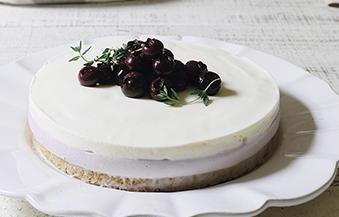 ブルーベリーレアチーズケーキ  12cm丸型