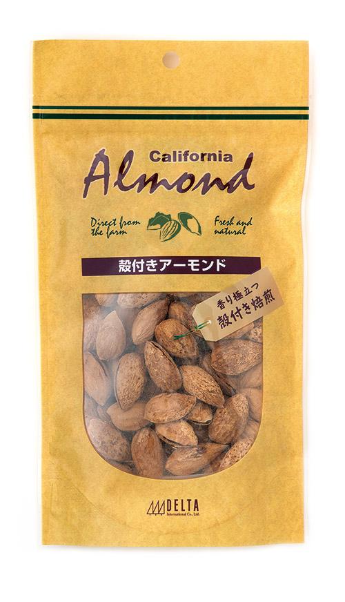 カリフォルニア産 殻付きアーモンド