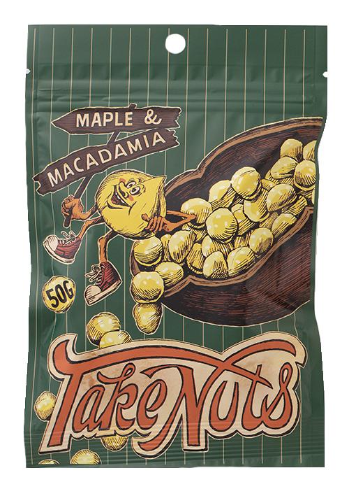 Take Nuts メープルマカダミア