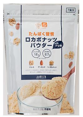 たんぱく習慣 ロカボナッツ<br>パウダー with きな粉