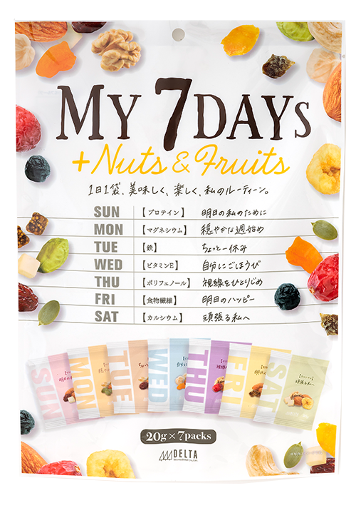 My 7Days +Nuts & Fruits